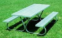 Picnic Table :: Standard Size Picnic Table