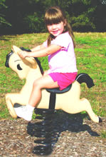 Spring animals, spring toys, spring riders - bronco