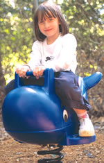 Spring animals, spring toys, spring riders - whale - playground equipment