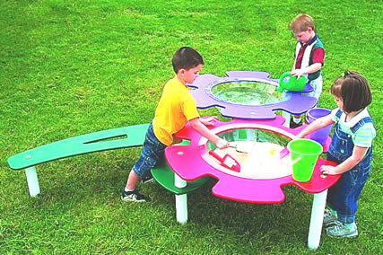 Playground Equipment - Sand and water table, sandbox, sand box