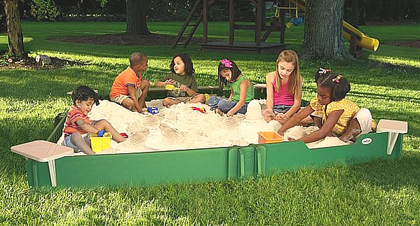 Sandbox 10 By 10 Playground Equipment Usa