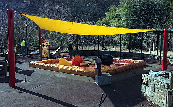 sail shade structures