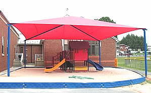 Shades, shade structures, playground shades :: playground equipment