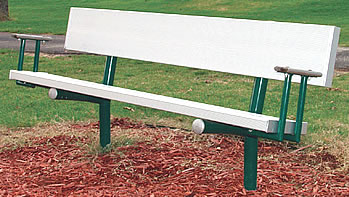 Playground benches, park benches, parkbenches