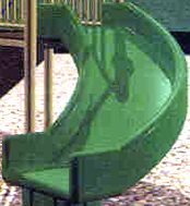 Slide :: Playground parts and equipment :: 90 Degree Right Turn Slide