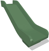 Slide :: Playground parts and equipment :: Double wall flat slide