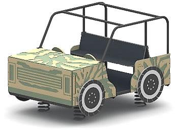 spring toys, spring vehicles, safari