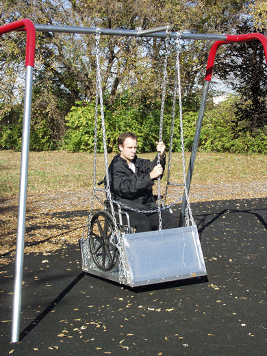 Special Needs Swing Platform - Swingsets - Playground Parts and Equipment