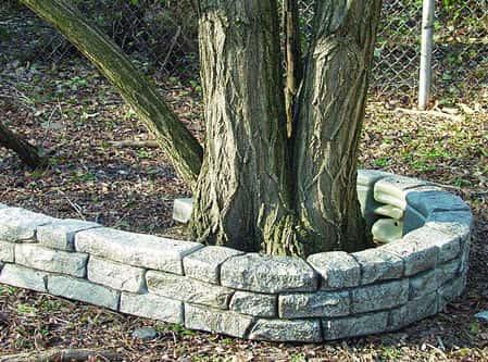 stone plastic borders