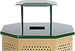 Playground Trash Cans, Trash Receptacles