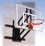Basketball System - Residential Roof Mounted - Roofmaster