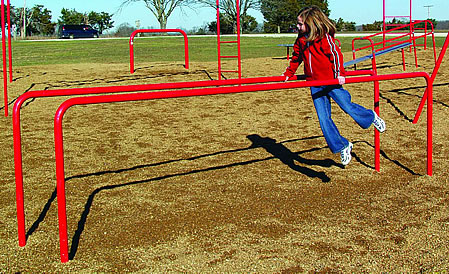 Parallel Bars :: Fitness Equipment :: Playground Parts and Equipment
