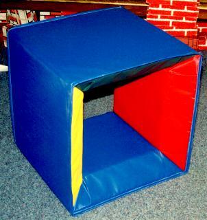 Play mats, gym mats - geo cube mat