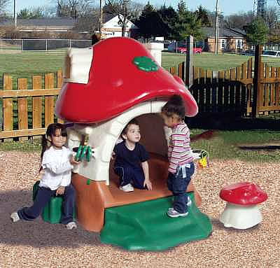 Mushroom Kottage :: Playground Equipment :: Plastic Structure