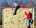 Action wall climber - playground climbing equipment