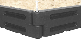 plastic border sandboxes