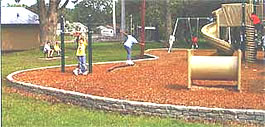 Plastic borders, plastic playground borders, plastic landscape borders :: Playground Equipment