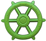 Residential Playground Parts - Ship Steering Wheel