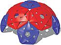 Geodesic dome climbers - playground climbing equipment