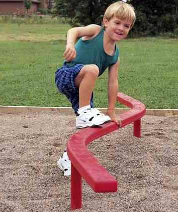 balance beams, balance beam, playground balance beam