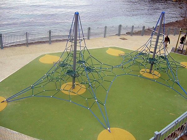 Playground Equipment :: Commercial Structures :: Net Climbers