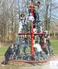 playground equipment, rotating play climbers