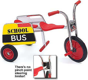 school bus tricycle