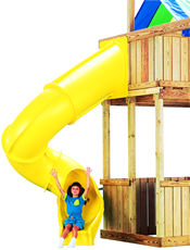 Home and Residential Slides and Sliding Boards :: Playground Parts :: Home spiral turbo slide